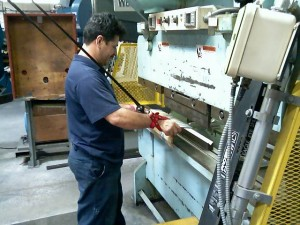 Press Brake Holdout System