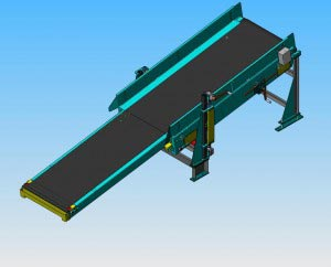 Omni Metal-Craft Telescoping Extendable Conveyor