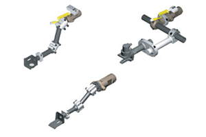 Syron transfer tool mounting devices
