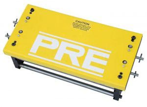 PRE pull-thru coil straightener