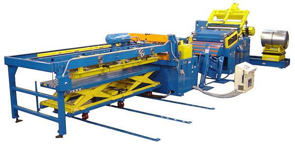 Cut To Length Lines & Transfer Press Feed Lines - Production Resources, Inc.
