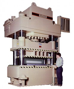 Standard Industrial Four Column Press