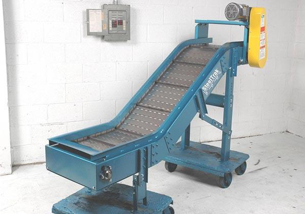 NLE - Steel Hinge Belt & Heavy Duty Belted Conveyors