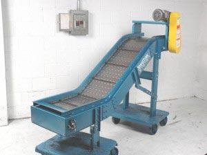 NLE Hinged Steel Belt Conveyors
