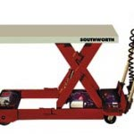 Portable lift table in PRI Material Handling Equipment