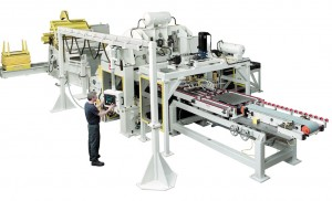 Coe coil to blank feeding system