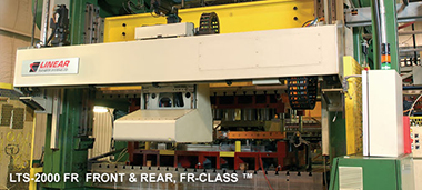 Linear Front & Rear FR-Class™ press transfer system