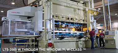 Linear Through The Window™ W-Class™ press transfer system