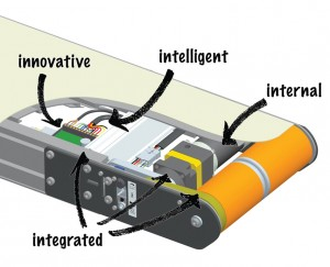 3200 Series iDrive Belted Conveyor