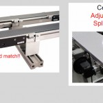 Precision drive conveyors for precise positioning