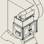 Pax Gap Frame Press Doors