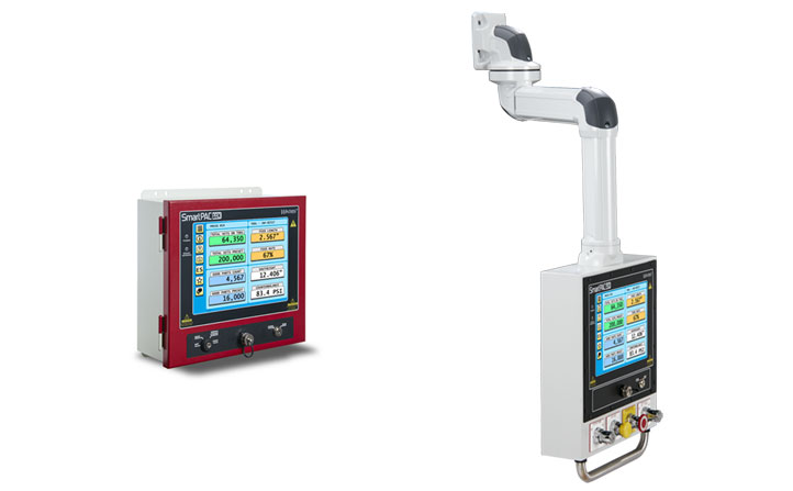 Mounting options for Wintriss SmartPAC PRO press controls