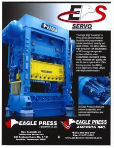 Eagle High Torque Servo Press