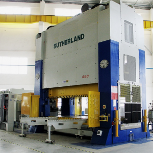 Sutherland EHW Series double point straight side mechanical press