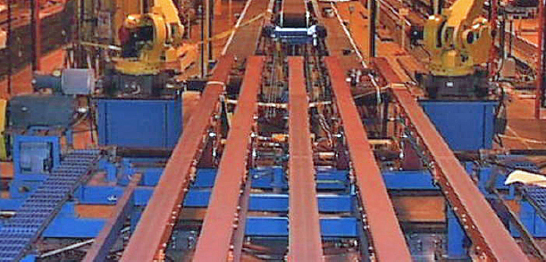 Mark One 5 Lane Exit Conveyor