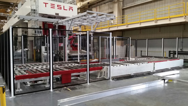 Mark One Automatic Pallet System