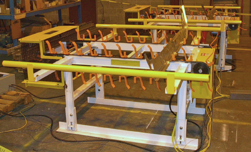 Mark One Indexing Feed Conveyor