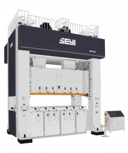 SEYI Straight Side Crank Servo Press (SDG Series)